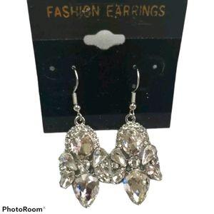 🔥2/$30🔥Angel rhinestone earrings